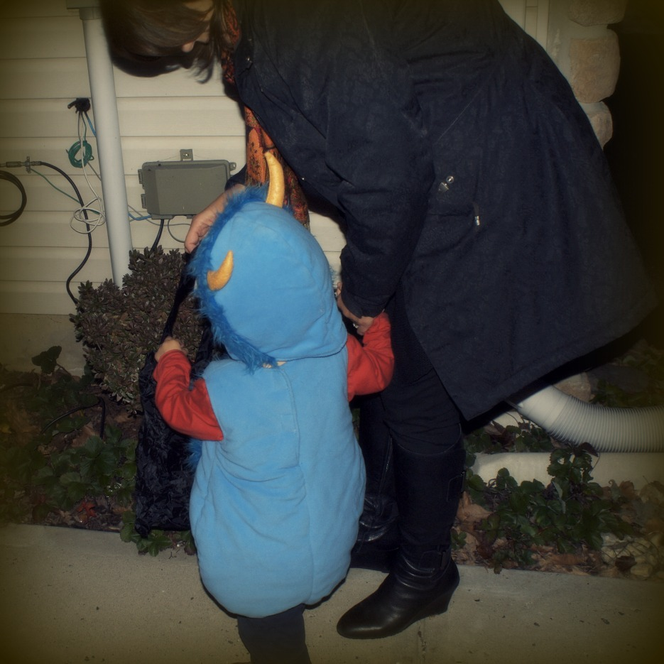 Trick or Treating: Little Man's First Real Halloween