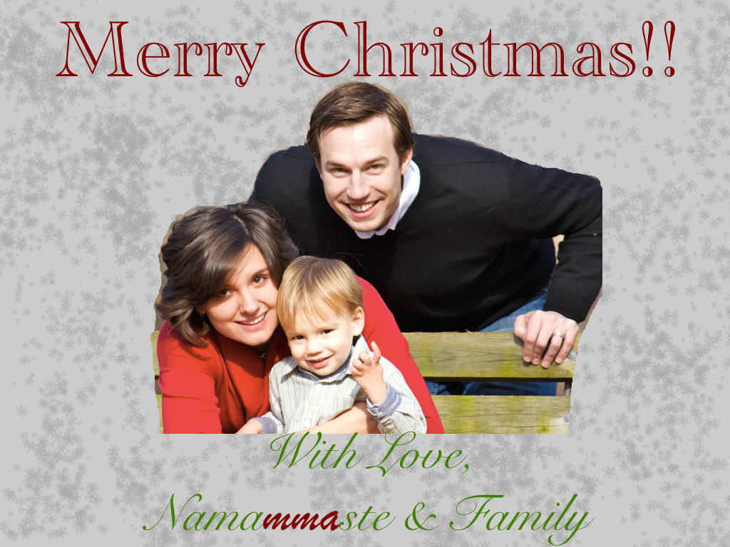 Wishing a very blessed and merry Christmas to you!