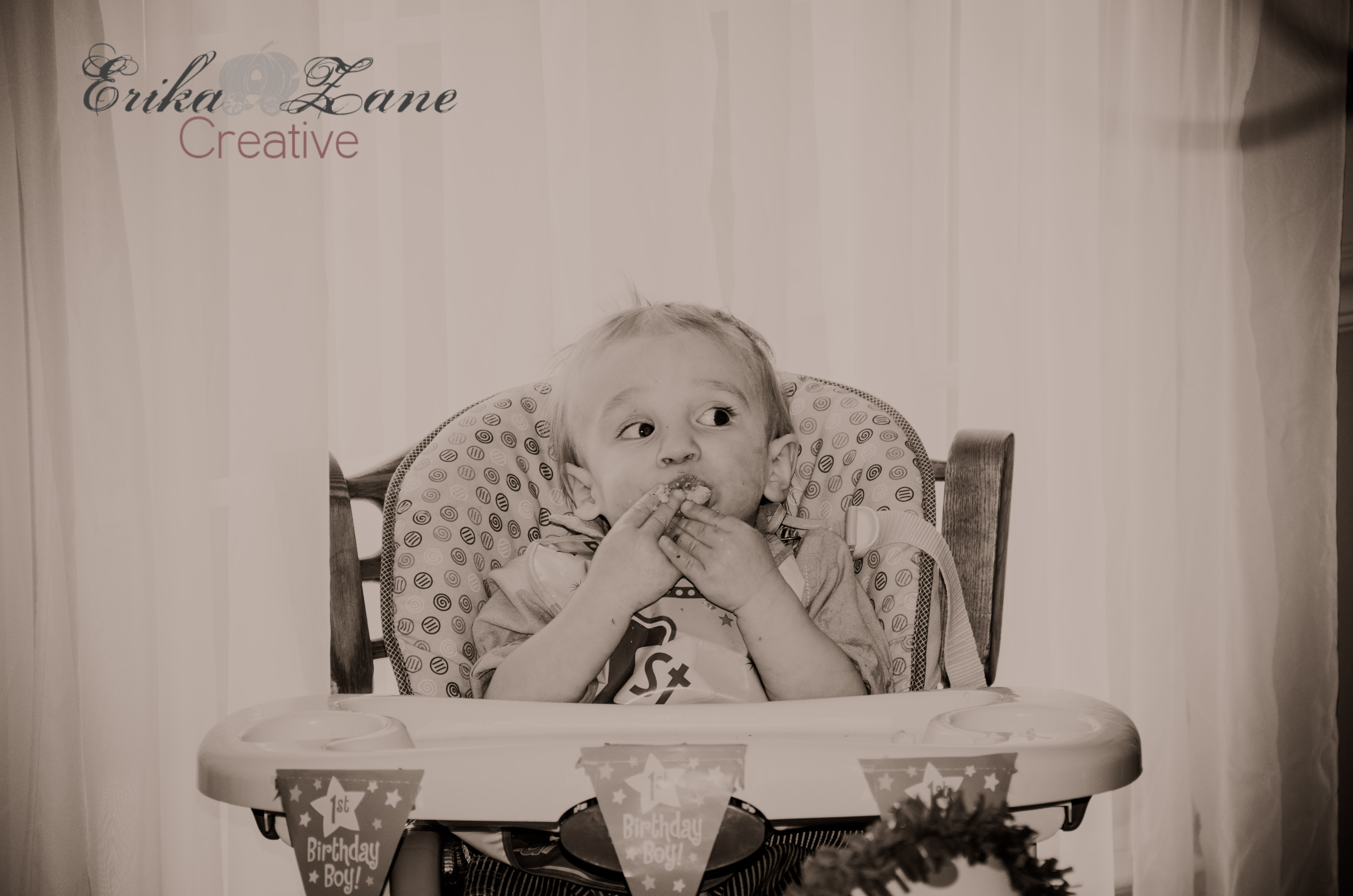 He's ONE!! {Baby Wyatt's 1st Year – Wordless Wed}