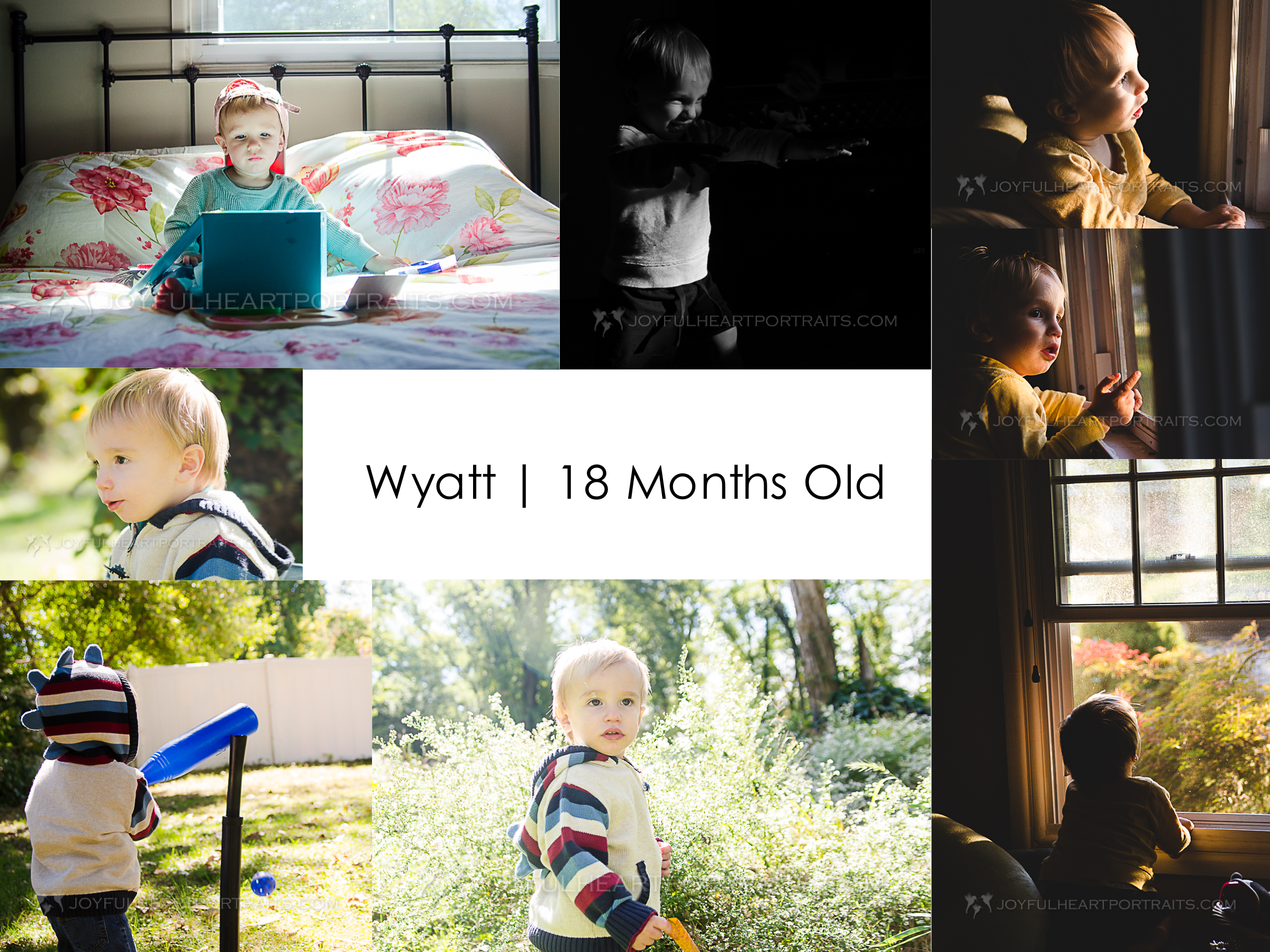 The last of the baby days: Wyatt's 18 months