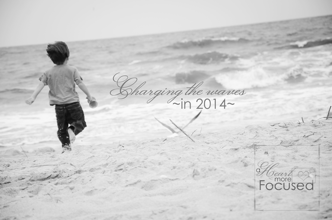 Why I'm ready to charge into 2014 with purpose.